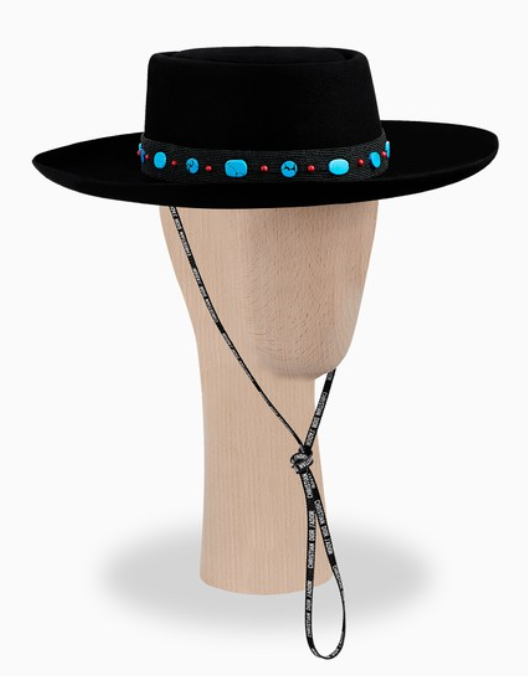 Felt hat from Dior.