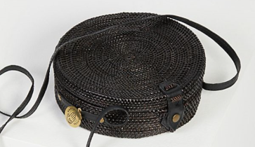 Woven basket bag by Free People