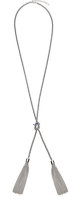 Long dual tassel necklace from John lewis