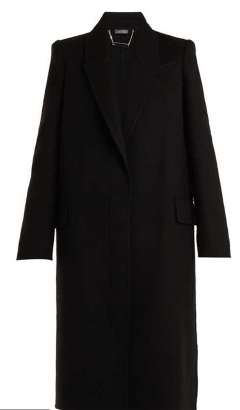 Coat by Alexander McQueen