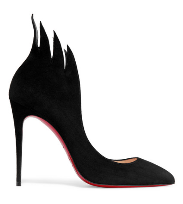 Victorina 100 Suede Pumps Christian Louboutin