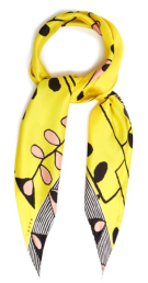 Silk Printed Scarf by Marni
