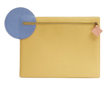 Learther Clutch by Roksanda