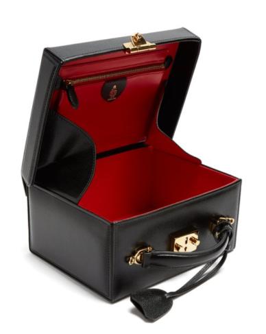 Mark Cross Grace Large pebbleleather Box Bag
